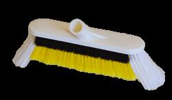 Brosse monobloc multiplé avec crin retenue blanc - BMMC