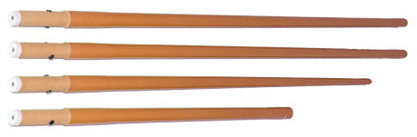 Perche affichage allégée orange - kit complet