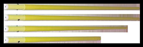 Perche affichage jaune - kit complet